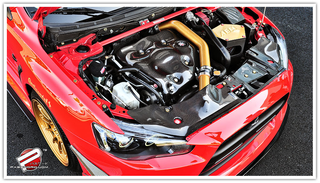 PWJDM password jdm v2 dry carbon fiber evox engine cover kteller evo x fuse box cover at gsmx.co
